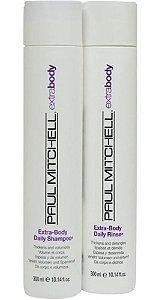 Paul Mitchell Extra Body - Kit Shampoo e Condicionador
