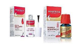 Mavala - Kit Scientifique Endurecedor de Unhas + Gel Finish Top Coat