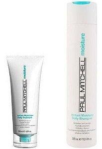 Paul Mitchell Instant Moisture - Kit Shampoo e Condicionador