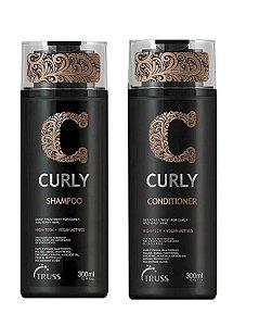 Truss Curly - Kit  Shampoo e Condicionador