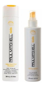 Paul Mitchell Baby Don't Cry - Kit Shampoo e Leave-in