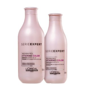 Loreal Serie Expert Vitamino Color Resveratrol - Kit Shampoo e Condicionador