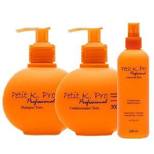 Kpro Petit - Kit Shampoo Condicionador e Leave-in