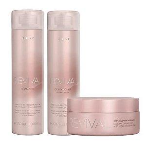 Braé Revival - Kit Shampoo Condicionador e Máscara