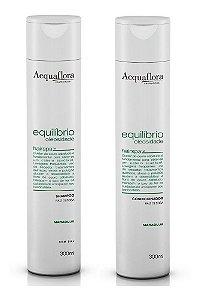 Acquaflora  Equilíbrio Oleosidade - Kit Shampoo e Condicionador Raiz Oleosa