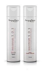 Acquaflora SOS - Kit Shampoo e Super Condicionador