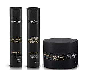Acquaflora Hidratação Intensiva - Kit Shampoo Condicionador e Máscara