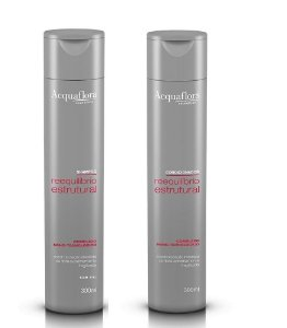 Acquaflora Reequilíbrio Estrutural - Kit Shampoo e Condicionador