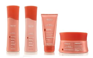 Amend Liso sem Química - Kit Shampoo Condicionador Máscara e Leave-in