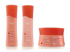 Amend Liso sem Química - Kit Shampoo Condicionador e Máscara
