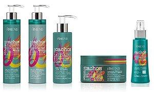 Amend Cachos - Kit Shampoo Condicionador Ativador de Cachos Óleo de Cachos e Máscara