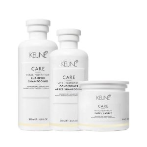 Keune Vital Nutrition - Kit Shampoo Condicionador e Máscara