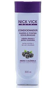 Nick Vick Nutri Hair - Raízes e Pontas Equilibradas Condicionador 300ml