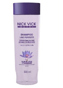 Nick Vick Nutri Hair - Liso Perfeito Shampoo 300ml
