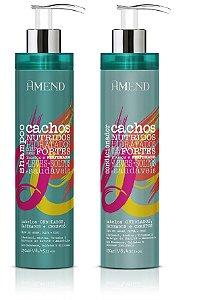 Amend Cachos - Kit Shampoo e Condicionador