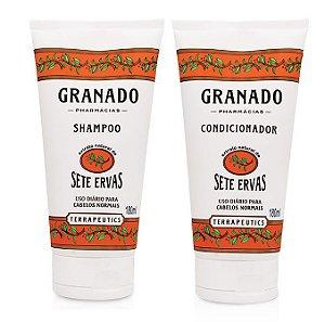Granado Kit Shampoo e Condicionador Sete Ervas