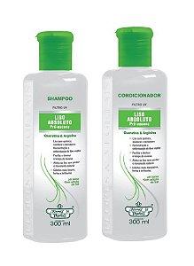 Flores e Vegetais Liso Absoluto - Kit Shampoo e Condicionador