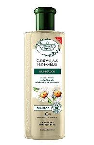Flores e Vegetais Camomila e Hamamélis - Shampoo 300ml