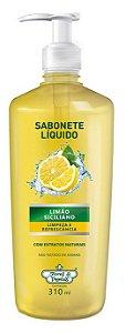 Flores e Vegetais Sabonete Líquido Limão Siciliano 310ml