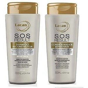 Lacan SOS Result - Kit  Shampoo e Condicionador
