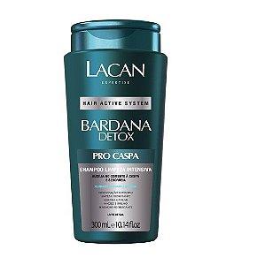 Lacan Bardana Detox - Shampoo Limpeza Intensiva Pro Caspa 300ml