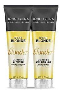 John Frieda Sheer Blonde - Go Blonder Kit Shampoo e Condicionador