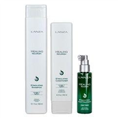 Lanza Healing Nourish Stimulating - Kit Shampoo Condicionador e Hair Treatment