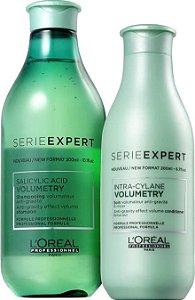 Loreal Serie Expert Volumetry - Kit Shampoo e Condicionador