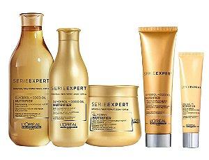 Loreal Serie Expert Nutrifier - Kit Shampoo Condicionador Máscara Creme de Pentear e DD Balm