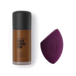 Beyoung Color Second Skin 08 + Esponja Flat Blend Mariana Saad by Oceane