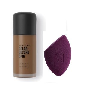 Beyoung Color Second Skin 07 + Esponja Flat Blend Mariana Saad by Oceane