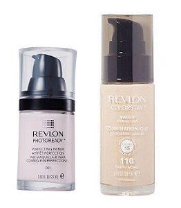 Revlon Base Colorstay 110 + Primer Photoready