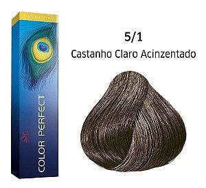Wella Color Perfect Tinta 5/1 Castanho Claro Acinzentado 60g