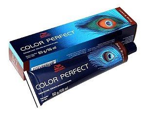 Wella Color Perfect Tinta 6/7 Louro Escuro Marrom 60g