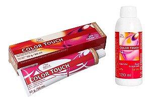 Wella Color Touch Tonalizante 8/0 Louro Claro + Emulsão 13vol