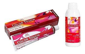 Wella Color Touch Tonalizante 7/7 Louro Médio Marrom + Emulsão 13vol
