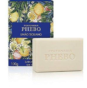 Phebo Sabonete Barra Limão Siciliano 100g