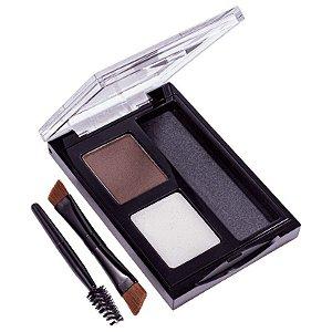 Revlon Brow Kit Paleta Sombra de Sobrancelha 102 Dark Brown
