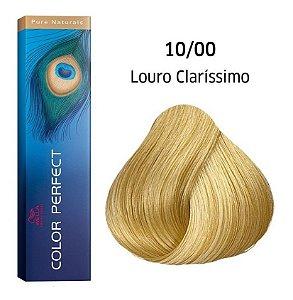 Wella Color Perfect Tinta 10/0 Louro Claríssimo 60g
