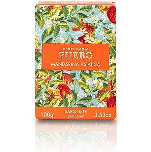 Phebo Sabonete Barra Mandarina Asiática 100g