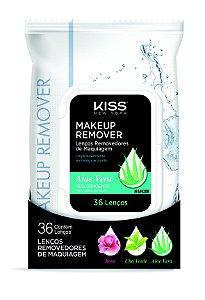 Kiss Lenços Removedores de Maquiagem Aloe Vera