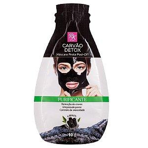Kiss Máscara Preta Peel-off Carvão Detox 10g