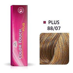 Wella Color Touch Plus Tonalizante 88/07 Louro Claro Intenso Natural Marrom 60g
