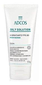Adcos Oily Solution - Hidratante FPS20 50g