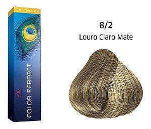 Wella Color Perfect Tinta 8/2 Louro Claro Matte 60g