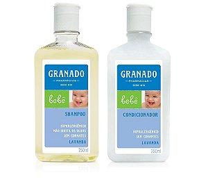Granado Bebê Kit Shampoo e Condicionador Lavanda