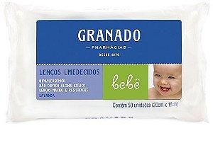 Granado Bebê Lenços Umedecidos Lavanda 50un