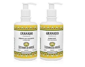 Granado Kit Castanha Sabonete Líquido e Hidratante