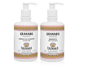 Granado Kit Calêndula Sabonete Líquido e Hidratante