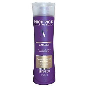 Nick Vick Alta Performance - Clareador Shampoo 250ml